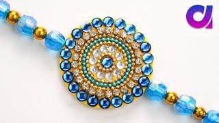 How to make rakhi at home | raksha bandhan | silk thread rakhi | tutorial | Artkala