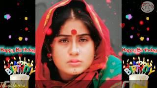vijaya shanthi Birthday wishes whatsapp status video    Telugu Lovers
