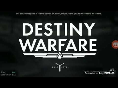Destiny Warfare Sci-fi FPS updated version geplay
