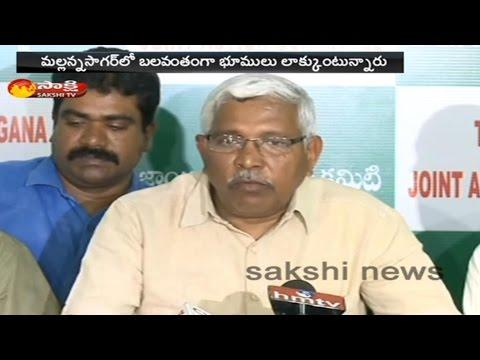 TJAC Chairman Prof. Kodandaram Fires on CM KCR Govt Over Mallanna Sagar Project