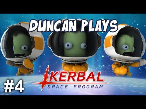 Kerbal Space Program - Part 4 - To the Moon!