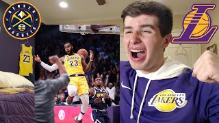 LAKERS FAN RANT ON WIN VS NUGGETS!! SHOWTIME! MAKE EM DANCE LANCE