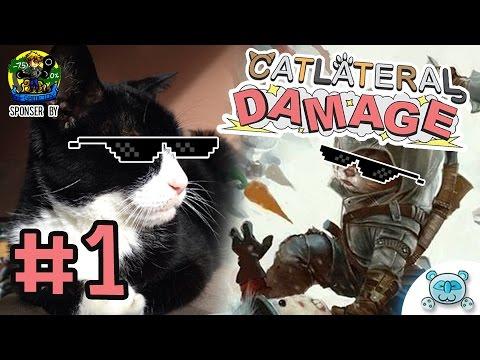 แมวเป็นสัตว์ที่คิดจะครองโลก เหมียววว [CatLateral Damage # 1](Sponser By GT Gametoy)