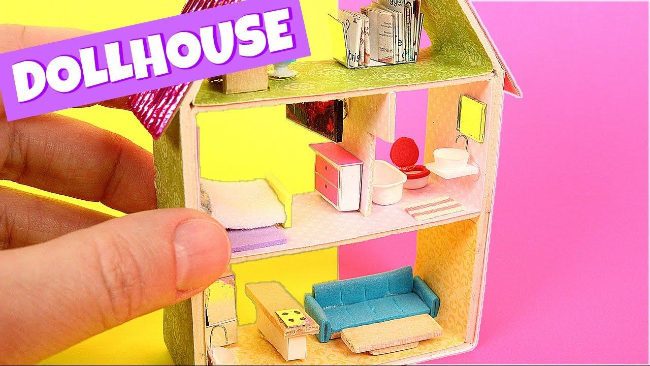 Аксессуары для кукольного домика своими руками как сделать