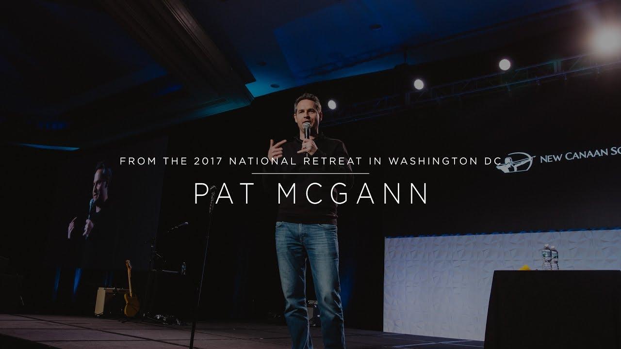 Pat McGann - New Canaan Society 2017 National Retreat