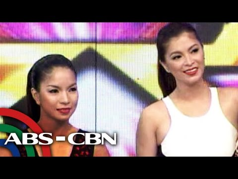 Angel Locsin meets 'kalokalike'