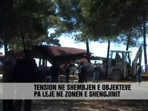 Përplasje për ndërtimet pa leje ne Shëngjin - Vizion Plus - News - Lajme