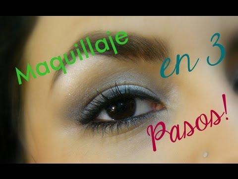 Maquillaje de ojos en 3 pasos ♥ PRINCIPIANTES ♥