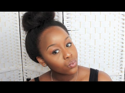 Versatile & Natural Looking Wig You Can Put In A High Ponytail/Bun ♥