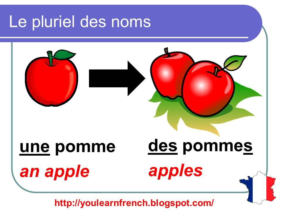 French Lesson 92 - Plural nouns (Grammar Rules ...