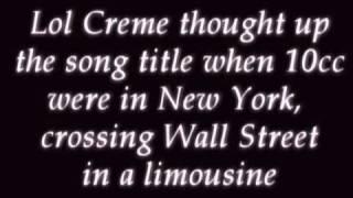 Watch 10cc Wall Street Shuffle video