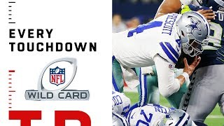Every Touchdown of Wild Card Weekend | 2018 NFL Playoffs