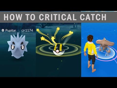 Rare critical catch Pupitar and  Hitmontop in the wild! Pokemon go Generation 2