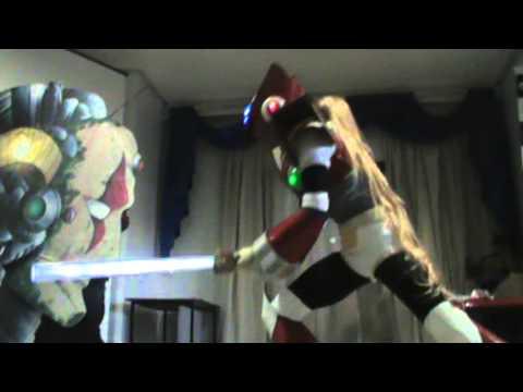 Zero Megaman Cosplay Zero de Megaman