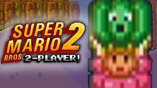 Super Mario Bros. 2: World 6 - I QUIT THIS GAME! (2 Player)