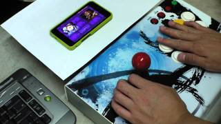 Android CPS2 Emul Test with Magiclab M3 JoyStick