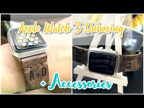 Apple Watch Unboxing & Accessories | How to Remove Watch Band | Etsy Reviews