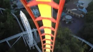 Tatsu Front Seat on-ride HD POV Six Flags Magic Mountain