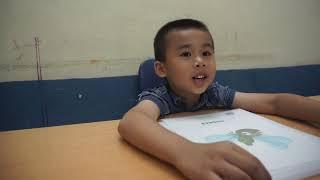 Golden Key - Bài phỏng vấn định kỳ của bé Đức Minh lớp FkidB