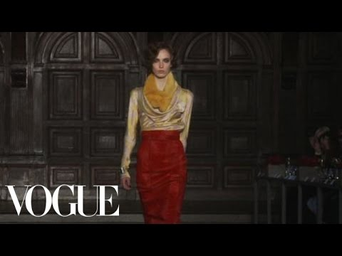 Fashion Show - L'Wren Scott: Fall 2012 Ready-to-Wear