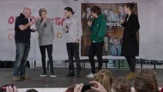 One Direction Video - One Direction Orlando Q&A - Recording FOUR