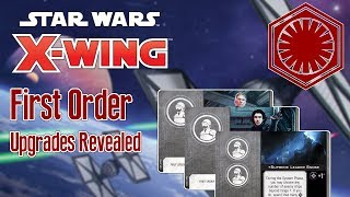 SNOKE, KYLO, AND HUX - More details on the First Order for X-wing revealed