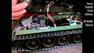 RC tank Torro T34/85, Metal Profi edice - recenze (RCKING)