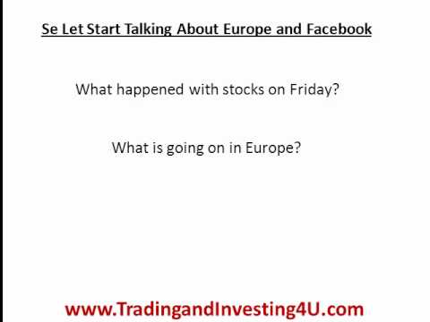 Greek Bailout Plan and The Facebook IPO - Whats happening now?