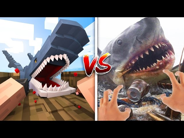 Minecraft vs Real Life How to Go Fishing! Minecraft Animation
