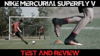 Nike Mercurial Superfly V REVIEW | Footballerz Italy
