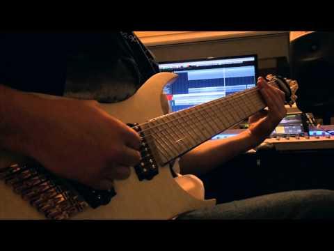 Owl City - Fireflies (metal coverJamUp Pro demo)