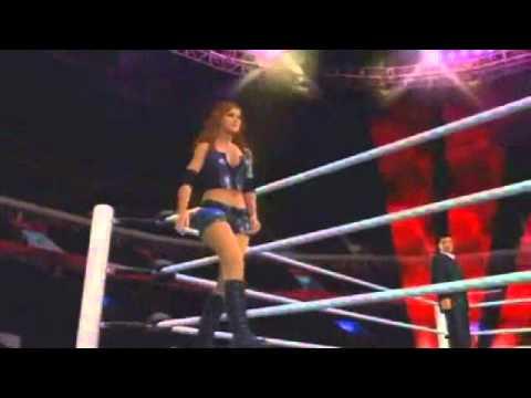 WWE Eve Torres All SvR Entrances
