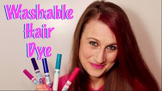 How To Make Washable Hair Dye With Markers (Temporary!!!)