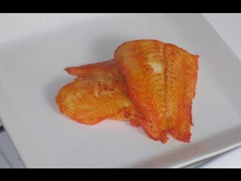 Como freir filete de pescado sin harina y huevos