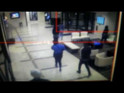 NEW KENNEKA JENKINS FOOTAGE - IRENE LEAVING HOTEL AT 4 AM with GUY IN ADIDAS & RED HOODIE