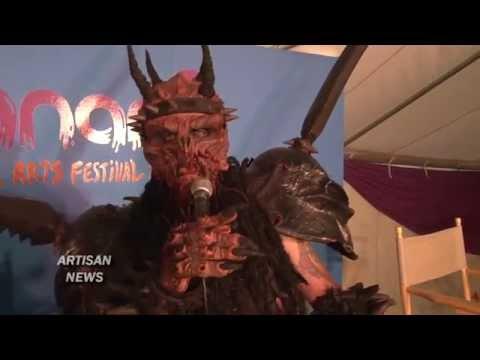 OUTRAGEOUS GWAR INTERVIEW AT BONNAROO WITH ODERUS...