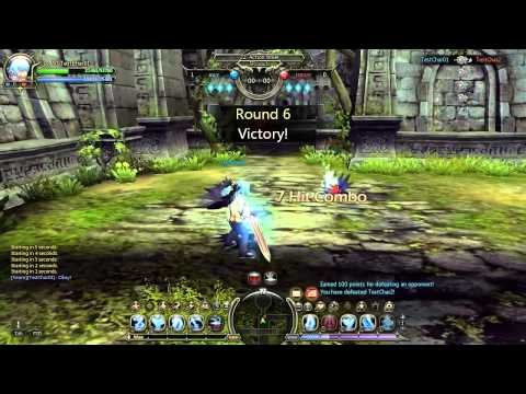 Dragon Nest SEA - Level 50 Preview. PVP Damage Review. AikawaKazu (ML) vs Lyzbeth (Elestra)