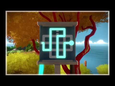 The Witness Прохождение: Часть 4 Скалы с красными деревьями (+ 2 аудиозаписи)