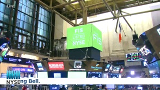 Fidelity National Information Services, Inc. Rings the NYSE Opening Bell