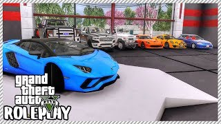 GTA 5 ROLEPLAY - Selling Real Life Cars at my Garage | Ep. 464 Civ