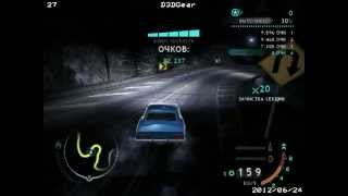 Need for speed CARBON Drifting 1 586 000 Camaro stock.avi