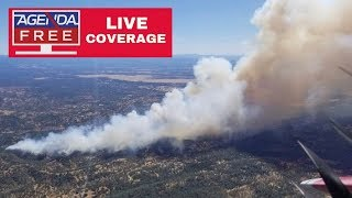 "Thousands Evacuate ""Mountain Fire"" in California - LIVE COVERAGE"