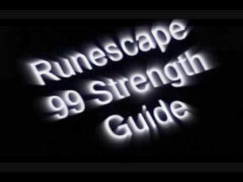 Runescape – 1-99 Strength Guide/Tutorial(F2P/P2P)