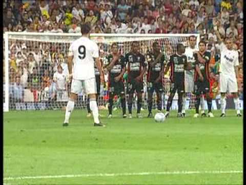 Cristiano Ronaldo ¨Primer Gol Con El Real Madrid¨