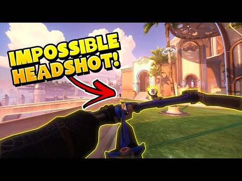 He NAILED AN IMPOSSIBLE Headshot!!? - Overwatch Funny Moments & Best Plays 41