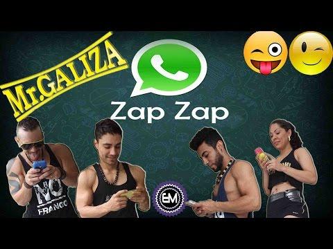 Coreografia Zapzap - Mr. Galiza - Performance Equipe Marreta