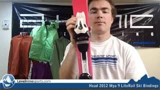 Head 2012 Mya 9 LiteRail Ski Bindings