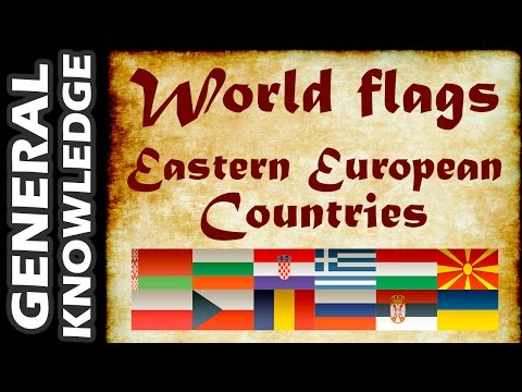 World Flags - Eastern European Countries