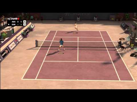 Top Spin 4 - Andre Agassi vs. Pete Sampras