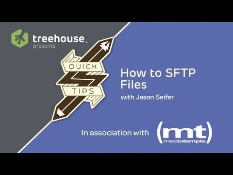 Transferring files with FTP and SFTP